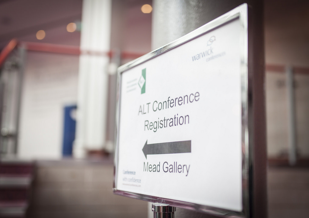 #altc Registration is now open!