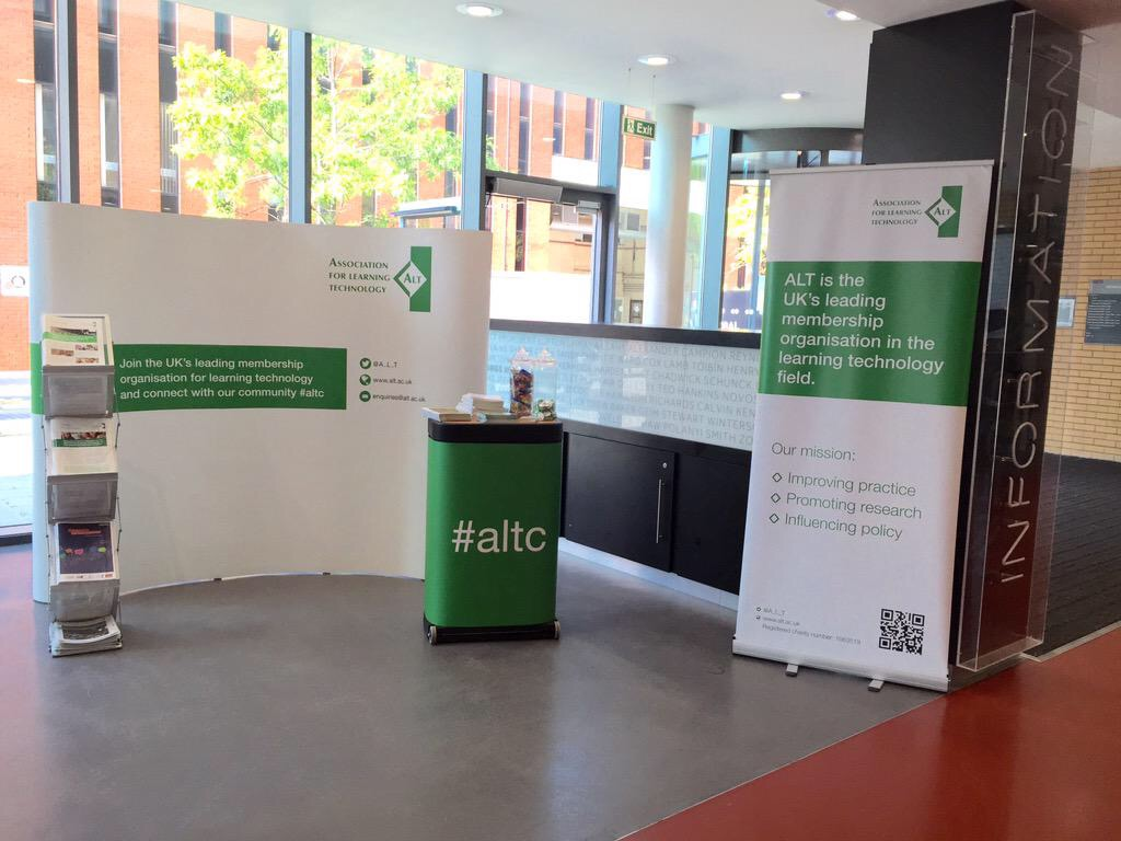 Find out more about ALT's activities at ALT conference sessions
