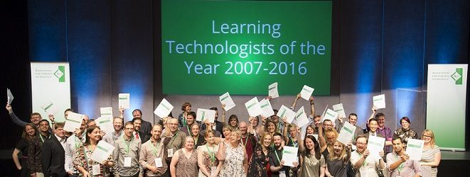 Winners of the 2016 Learning Technologist of the Year Awards