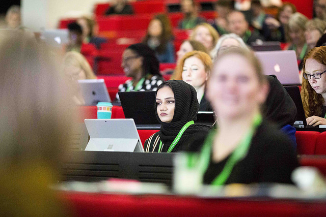 ALTC 2018 day one. Picture by Chris Bull for Association For Learning Technology 11/9/18