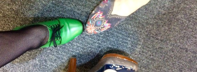 Putting your best foot forward with #altc