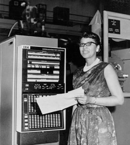 Early 'computer', Melba Roy. NASA