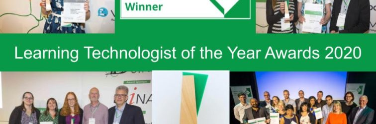 Learning Technologist of the Year Awards – deadline for entries 25 March 2020
