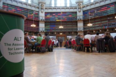 Figure 1 - Photo of delegates during lunch break in the QMUL Octagon