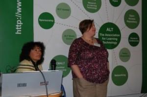 Figure 7 - Juliet Hinrichsen and Amanda Hardy, Coventry University