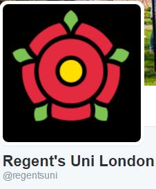 Regent's Uni on twitter