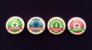 the physical badges for #openbadgesHE