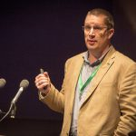 David presenting at ALTC