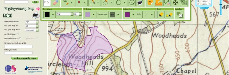 Geographical Information Systems in the classroom – Digimap for Schools