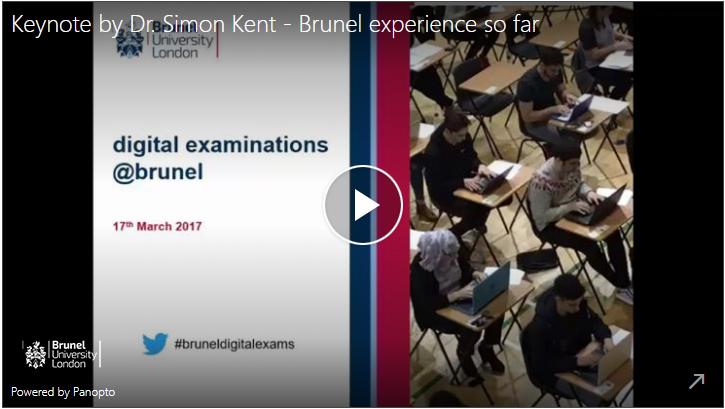 Keynote by Dr Simon Kent