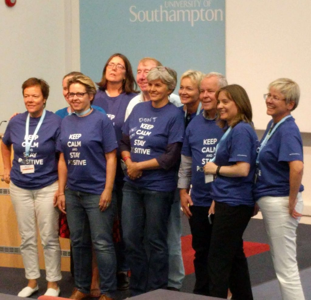 Eurocall 17 conference team