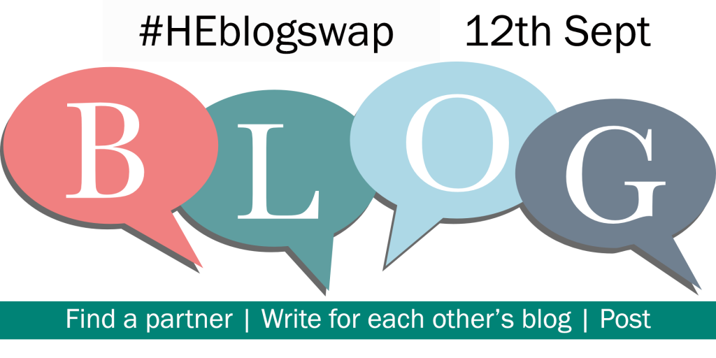 #heblogswap is back in September