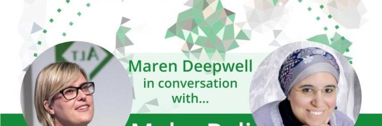 Maren Deepwell (@marendeepwell) in conversation with…  Maha Bali (@bali_maha)