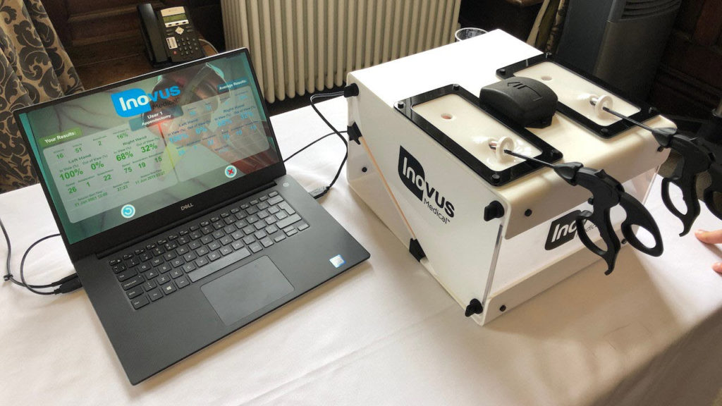 Photo of Inovus mixed/augmented reality system