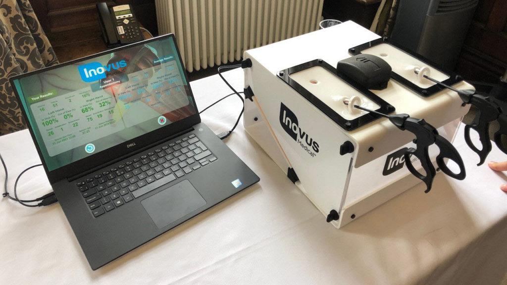 Photo of Inovus mixed/augmented reality system