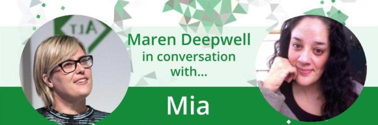 Maren Deepwell in conversation with… Mia Zamora