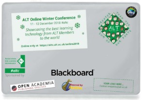 ALT Online Winter Conference 2018: Call for Proposals and Registration Open